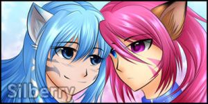 Comm: Icons - Riri and Nyoko by Silberry