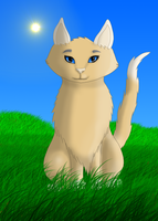 Cremecoloured cat by Leopardenschweif