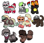 chibis by qameover