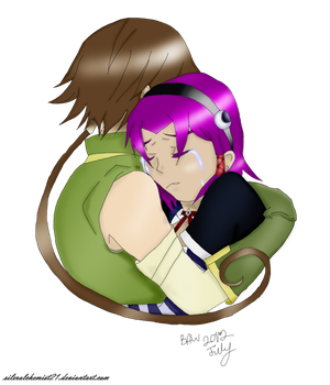 Comforting Embrace by silveralchemist21