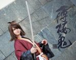 Okita Souji Hi no de 2014 by GrimmRiddleS