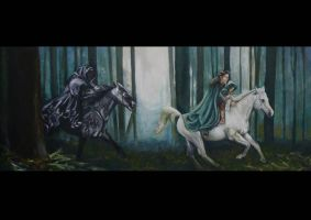 Ride of Arwen by slakerart