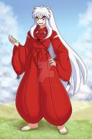 InuYasha Print by SonicRocksMySocks