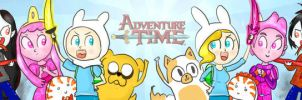 Adventure Time! by PixieParrot