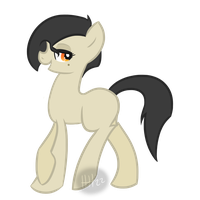 Old Timey Gangster Pony...? by woogieboboogie