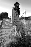 No Trespassing by Leafyprinter
