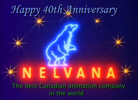 Happy 40th Anniversary Nelvana by KodyBoy555