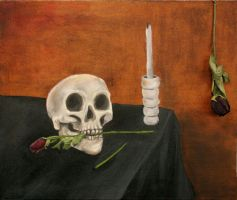 Vanitas Oil Painting by caitlyn1701