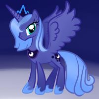 Luna, the princess of the night. by CDThorne