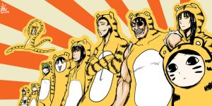 Happy Tiger Year 2010 by Reef1600