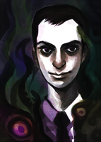 SH Fanbook: Jim Moriarty by feyuca