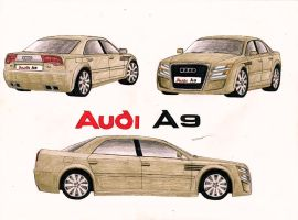 0849 - Audi A9 Concept by TwistedMethodDan