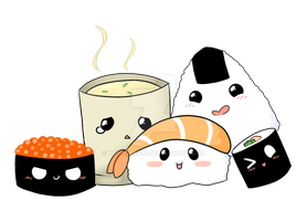 Sushi Design by BunsDream