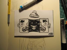 Inktober #12 Goo Head by MarcosMachina