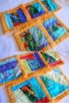 Birds of a Feather coaster hot pad set by ChaosFay
