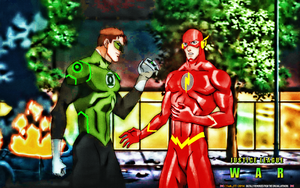 JUSTICE LEAGUE: WAR (2) GREEN LANTERN-FLASH by CSuk-1T