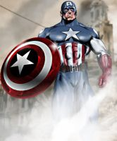 Captain America by Adobewan