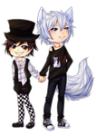 PointComission Chibi Love // + Speedpaint by chocobeery