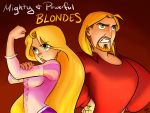Mighty and Powerful BLONDES by kra