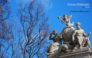 Statues Wallpaper by photoartiste