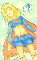 supergirl by Nikufei