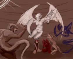 The Battle WIP by im-Rem
