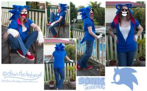 Sonic Cosplay by mmishee