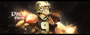 Drew Brees Signature by kingsess