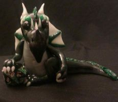 Green Dice Dragon by chasmatic