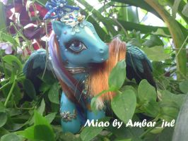 Mi little pony chinese Miao by AmbarJulieta
