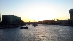Sunset Thames by LordNobleheart