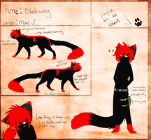 :CO: Bladewing Ref Sheet by XBlackIce