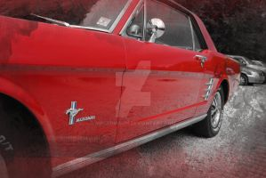 Pony Car, grunge-style: by mr-johnson