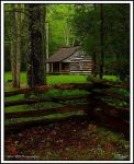 Spring Cabin by TRBPhotographyLLC