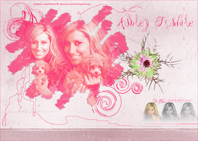 Ashley Tisdale xLayoutx by NeCia93