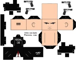 Agent 47 Hitman Cubeecraft Template *Request* by lejo10