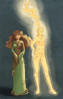 RotG: Sun and Earth by fUnKyToEs