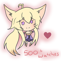 Thankies for 500+ watches by KalinaVita
