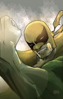 Iron fist by johnnymorbius