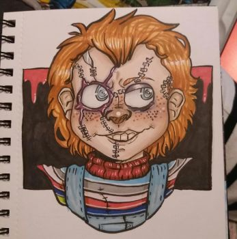 Chucky by The-Invader-Trixie