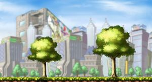 Tree Land- Maple Story Made by xXcookies898Xx