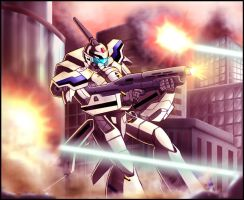 Macross: Stand your ground by zeiram0034