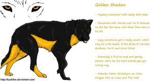 KNW RefSheet: Golden Shadow by kyubifan