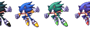 Brawl - Sonic Alternates by KazarSanaga