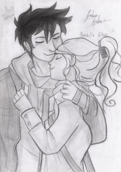 Percy and Annabeth 3 by ChristARG