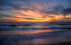 Sunset in HB by JJohnsonPhotography