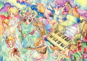 melody of heaven piano by Lovepeace-S