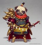Pug Warrior by mc-the-lane
