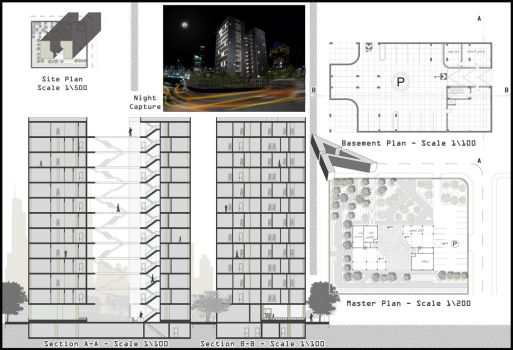 Residential towers by ArchiSimon