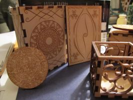 Boxes and Calendar Stones, Oh My! by MercuryCrest